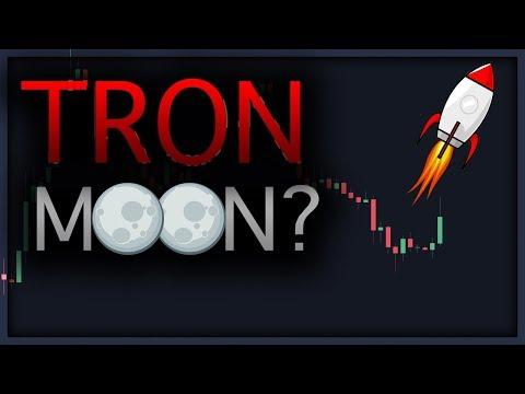 Will TRON (TRX) Moon ? – ERC-20 Token Migration Technical Analysis – Bitcoin/BTC Crypto Market Recap