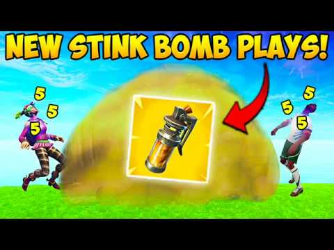*NEW* STINK BOMB BEST PLAYS! – Fortnite Funny Fails and WTF Moments! #231 (Daily Moments)