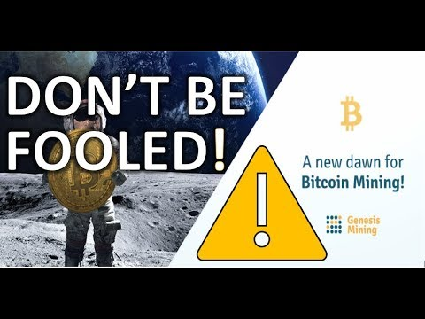 GENESIS MINING RELEASES NEW AND IMPROVED BITCOIN MINING CONTRACTS – Don't Be Fooled