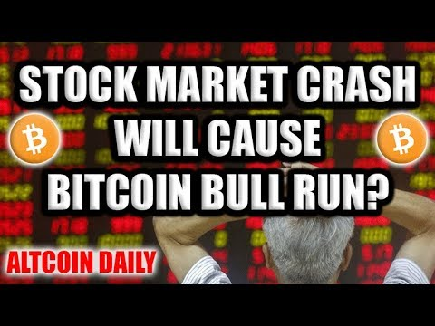 HUGE Stock Market Crash Will Happen in 2018-2019? Bitcoin & Cryptocurrency Will Be A Safe Haven!