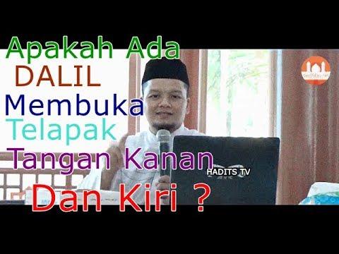 Apakah Ada Dalil Membuka Telapak Tangan Kanan & Kiri Ketika Salam ? –  DR. M. Khoir Alkusyairi.,MA