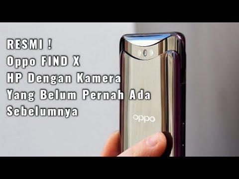 RESMI! Oppo Find X | HP Dengan Kamera Yg Belum Pernah Ada Sebelumnya