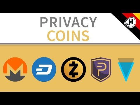 Monero, Zcash, Dash… | Welcher dieser privaten Coins ist der beste?