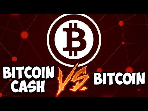 Bitcoin Cash (BCH) vs Bitcoin (BTC). Война началась!