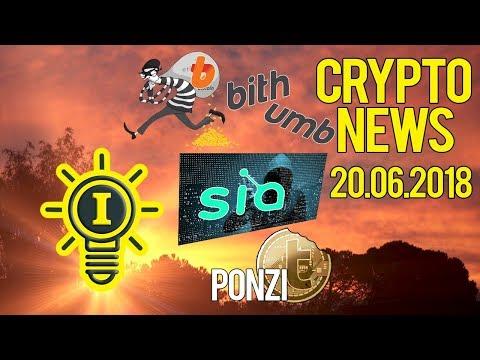 "CRYPTONEWS 20.06 – BITHUMB ""HACKEADA"" | TURCOIN PONZI | SIACOIN MALWARE | FUTUROS LTC | EU SOU S. N."