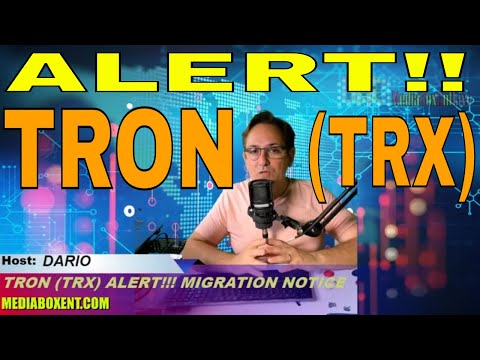 TRON (TRX) MIGRATION NOTICE! NOW!