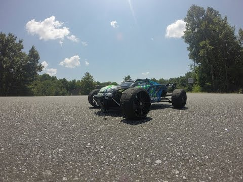 Traxxas E-revo2.0 breaks 100mph, Emperformance, Ripple killer