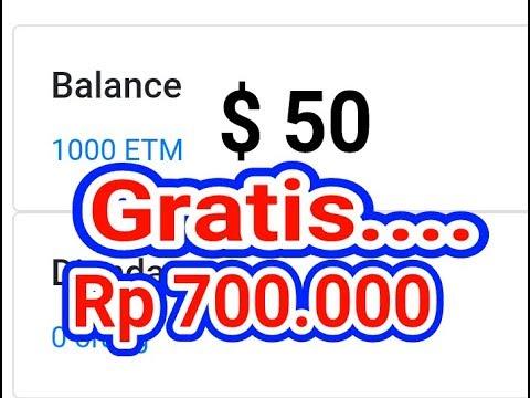 GRATIS Rp 700.000 DARI 1000 COIN ETM…!!!