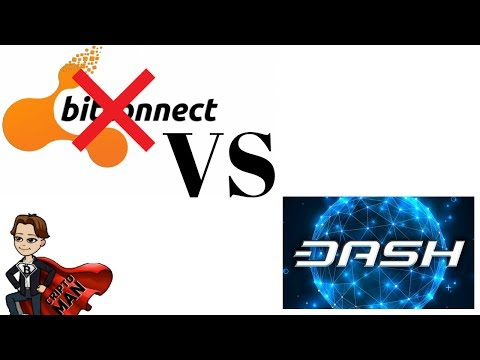 PONZI SCHEME (BITCONNECT) VS MASTERNODE (DASH)