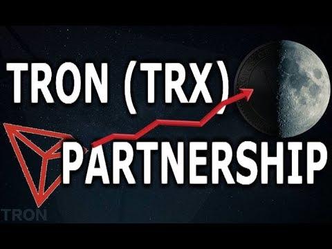 TRON NEW PARTENSHIP – TRX to $1 (MAINNET LAUNCH, TOKEN SWAP, INDEPENDANCE DAY)