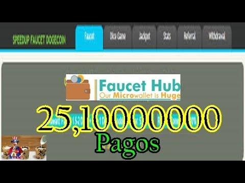 SpeedDoge Paga 25,10000000 Dogecoin – Faucet Pagando Desde 2015