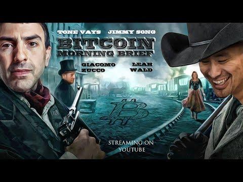 Bitcoin Brief – Nasdaq Blockchain, Tron and Tezos, $BTCUSD