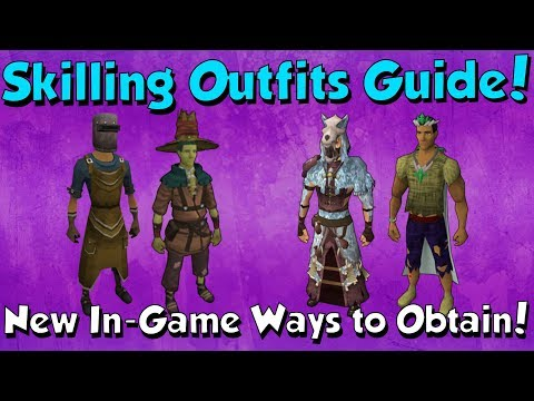 Skilling Outfits Guide [Runescape 3] How to Obtain the New & Old ones?