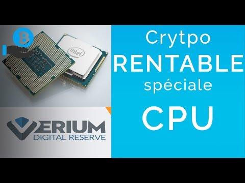 ENFIN UNE CRYPTO RENTABLE SUR CPU ! Verium GUIDE