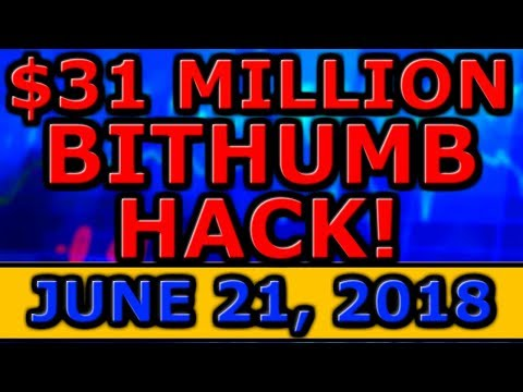 $31 MILLION Bithumb HACK! Goldman Sachs CEO BULLISH On CRYPTOCURRENCY! Skycoin SCANDAL CONTINUES!