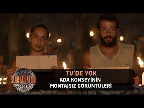 TV'de Yok | Ada konseyinin montajsız görüntüleri | 104.Bölüm | Survivor 2018