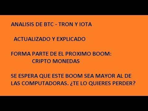 ANALISIS DE BTC, TRON, IOTA, SALUDOS A VALENCIA VENEZUELA DE PARTE DE UN SUSCRIPTOR