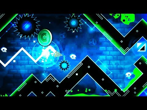 "[Monster Gauntlet CC] ""OMG Aliens"" by DanZmen (1 Coin) Geometry Dash 2.11"
