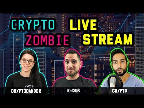 Crypto Zombie | CryptoCandor | Crypt0 LiveStream | Cryptocurrency Chat: $BTC $ETH $EOS $ICX $$ADA