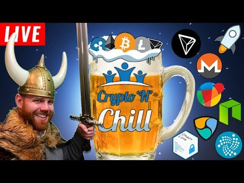 Charts'N'Chill Episode 119 – VIKING Nightly Cryptocurrency Technical Analysis Learning