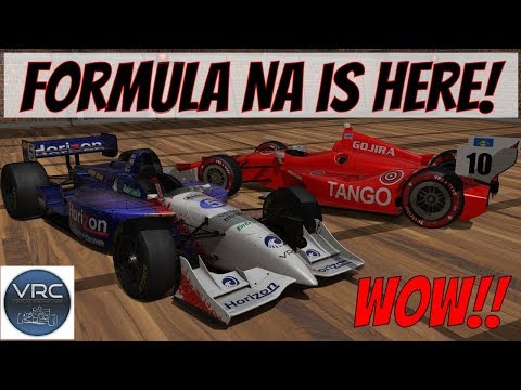 VRC Formula NA First Drive! Mod Review (1999/2012 IndyCar)