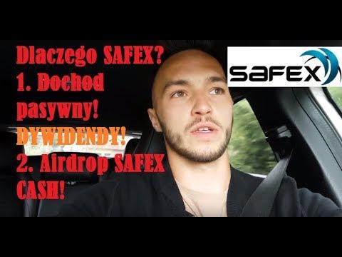 2 POWODY dlaczego warto kupić kryptowalutę SAFEX? Dochód pasywny!!!