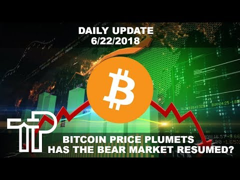 Cryptocurrency Bear Market Resumes With Massive Selling Power… But Why? | Daily Crypto Update