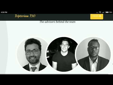 ICO Review T50 Tripterium ICO Review Cryptocurrency news today live Crypto