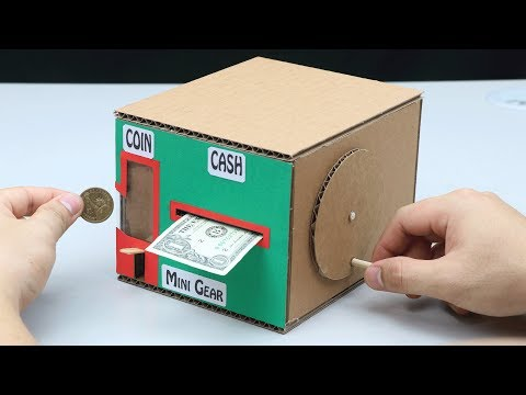 How to Make Personal Bank Saving Coin and Cash