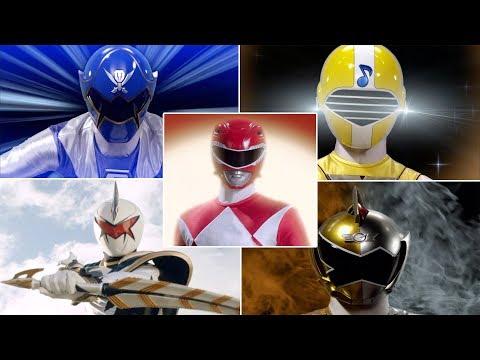 All Legendary Ranger Morphs   Power Rangers Super Megaforce Episodes   Epic Neo-Saban Superheroes