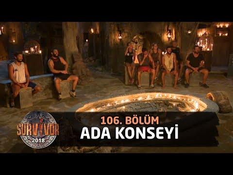 Ada konseyi | 106. Bölüm | Survivor 2018