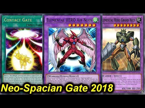 【YGOPRO】NEO SPACIAN CONTACT GATE DECK 2018
