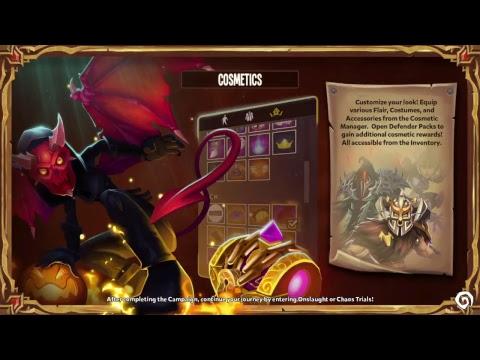 Dungeon Defenders 2 protean shift Jugando con suscriptores
