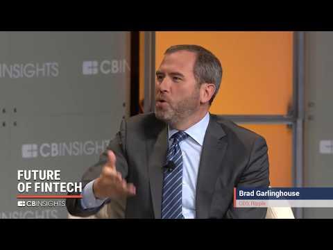 CB Insights Future of Fintech Ripple Brad Garlinghouse