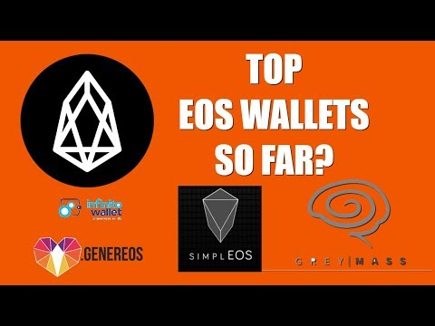 BEST EOS WALLETS SO FAR?