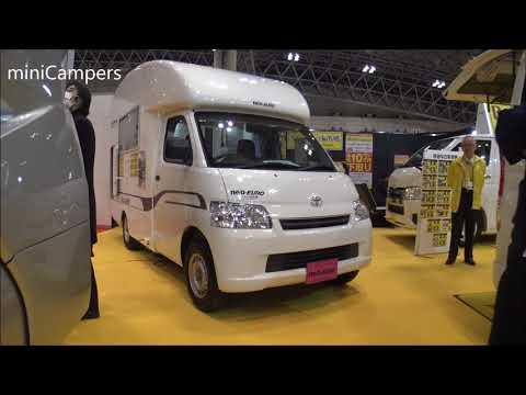 Japanese mini Camper – NEO EURO 2018 キャンピングカー