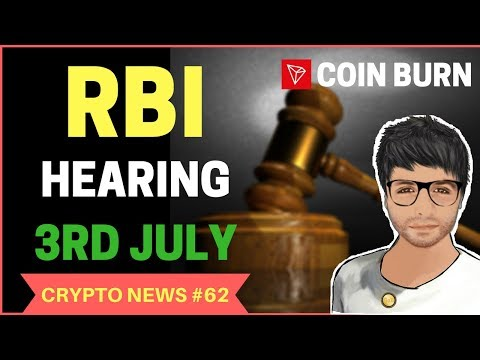 RBI Supreme Court hearing on 3rd July, TRON (TRX) Coin Burn – Crypto News Hindi #62