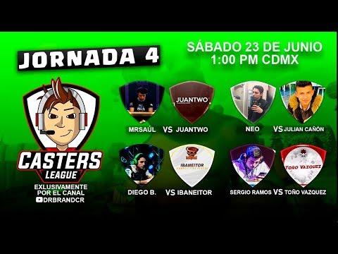 Casters League Jornada 4: Sergio Ramos, DiegoB, MrSaul y NEO quién ganara?
