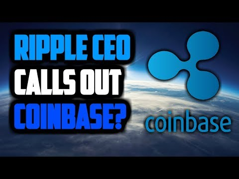 RIPPLE XRP BREAKING NEWS! XRP To Be Listed On Coinbase? Ripple CEO Calls Out Coinbase!