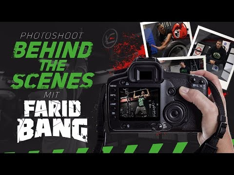 Photoshoot Behind The Scenes mit Farid Bang