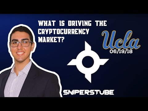 What is driving the cryptocurrency market? (UCLA Keynote by Naeem Al-Obaidi) (06/19/18)