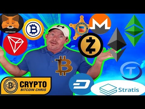 US Crackdown: Privacy Coins? – Why is Bitcoin down? – ETC: Lots of News –  82 BTC Teddy Bear?