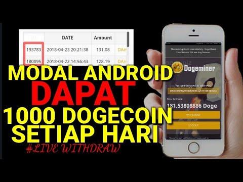 CARA DAPAT 1000 DOGECOIN GRATIS PERHARI | DOGEMINER.CC