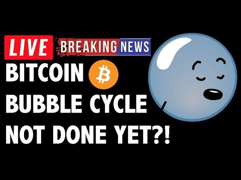 Bitcoin (BTC) Bubble Cycle NOT DONE YET?! – Crypto Trading Analysis & Cryptocurrency News