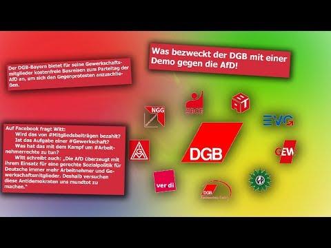 AfD verwundert DGB Bayern organisiert Busreisen zu Anti AFD Demo bei Bundesparteitag