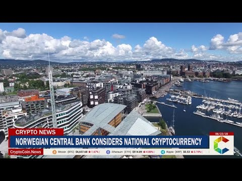 Norwegian Central Bank Considers National Cryptocurrency to Secure Monetary System