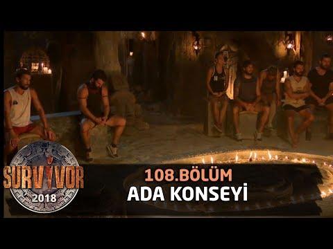Ada konseyi | 108. Bölüm | Survivor 2018