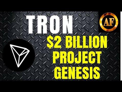 Tron (TRX) – $2 Billion Dollar Fund – MAIN NET GROWING!