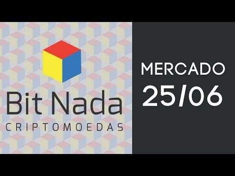 Mercado de Cripto! 25/06 Touros seguram Bitcoin / IGTV / EOS / OMG