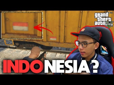 ADA INDONESIA DI GTA 5?! 3 Easter Egg INDONESIA di GTA 5!